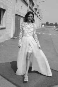 Lenny wedding dress by Rime Arodaky