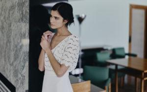 Farrow wedding dress by Rime Arodaky