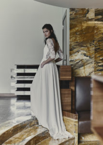 Guibert wedding dress by Laure de Sagazan