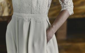 Guibert wedding dress by Laure de Sagazan
