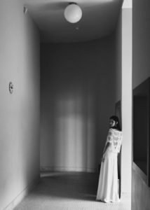 Hanks Drieu wedding dress by Laure de Sagazan