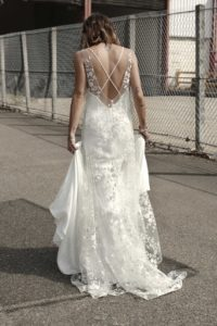 Marlon and Lennon wedding dress by Rime Arodaky