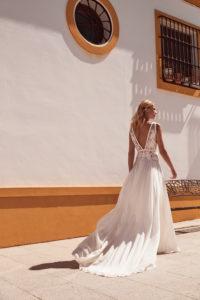 Elvira wedding dress by Margaux Tardits