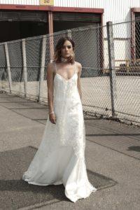 Marlon and Lennon wedding dress by Rime Arodaky