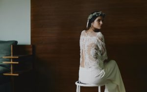 Montand wedding dress by Laure de Sagazan