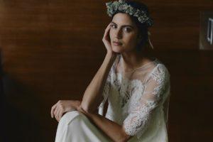 Montand wedding dress by Laure de Sagazan