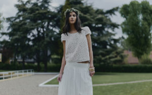 Parny wedding dress by Laure de Sagazan