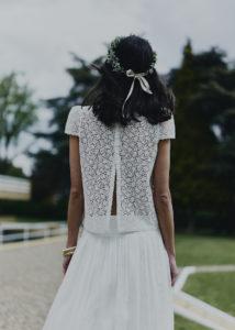 Parny wedding dress by Laure de Sagazan