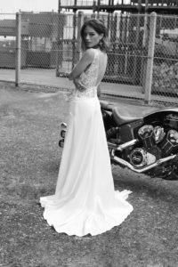 Redding wedding dress by Rime Arodaky