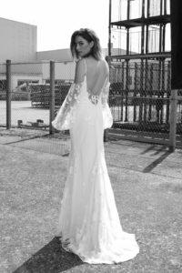 Wolf wedding dress by Rime Arodaky