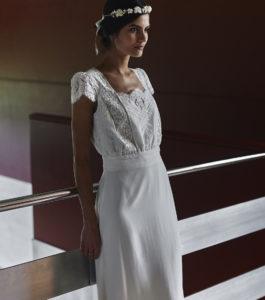 Welles wedding dress by Laure de Sagazan