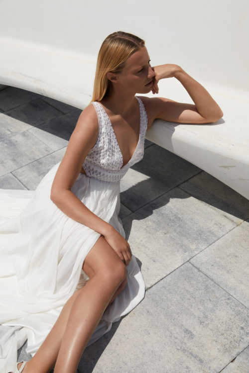 La Pietra by Margaux Tardits at The Mews Bridal