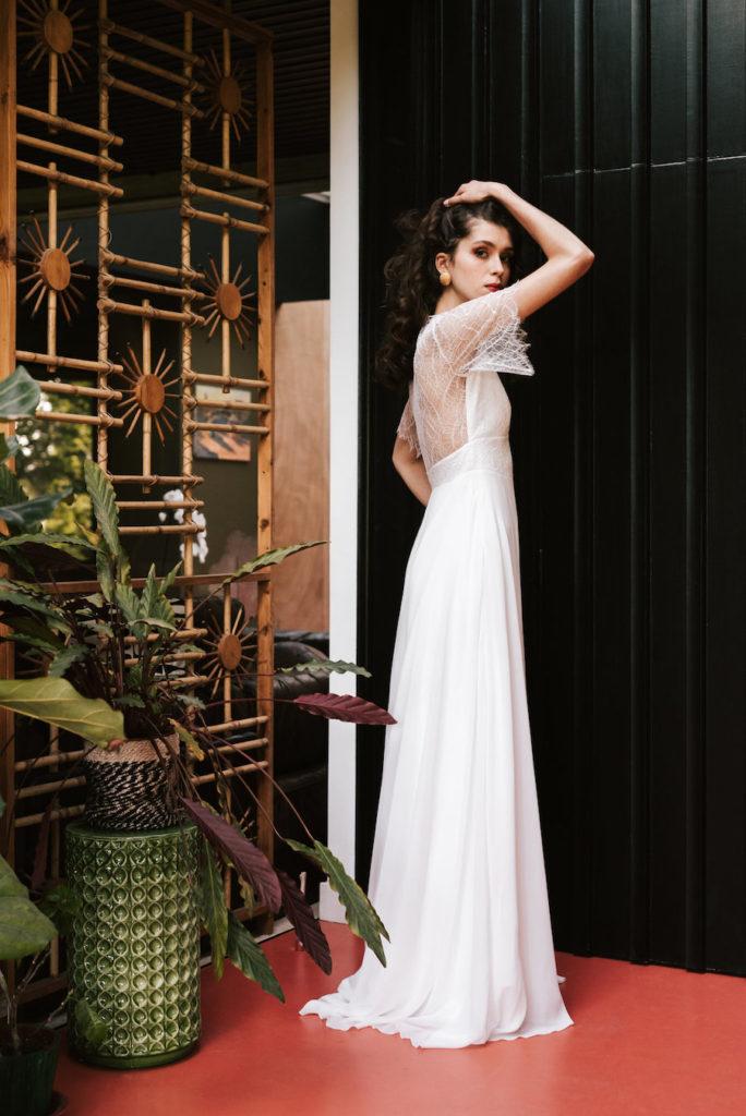 wedding dress by Mademoiselle de GuiseAlbane