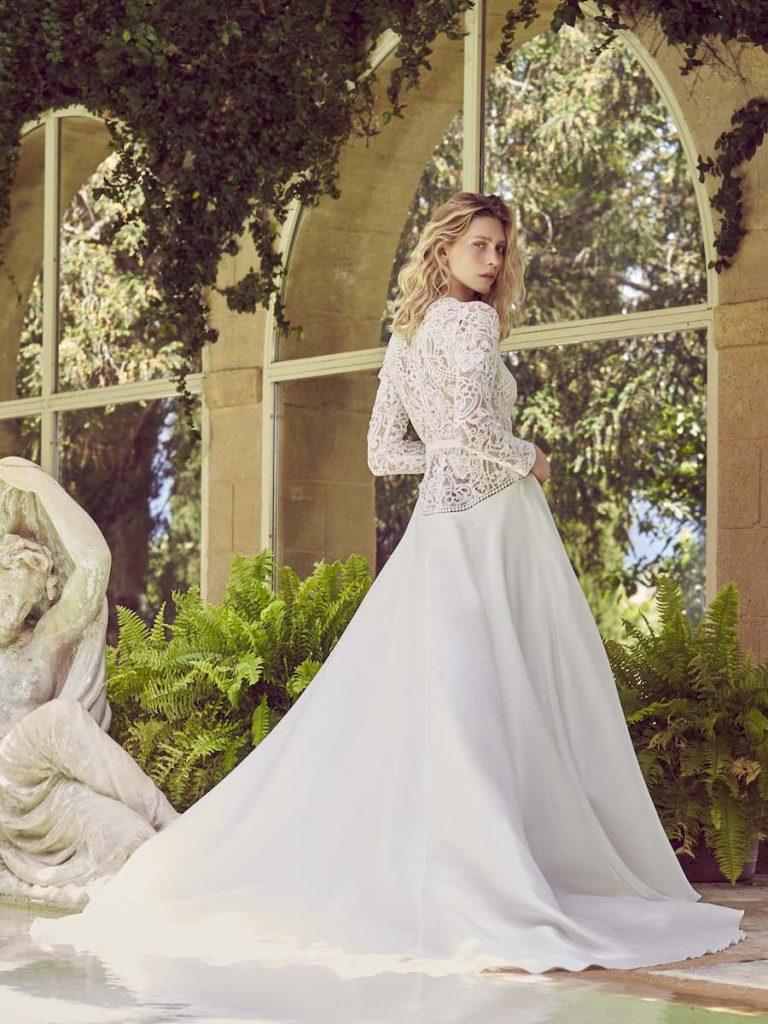 Perolla wedding dress by Margaux Tardits